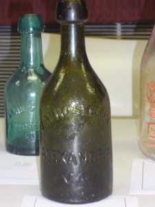 Color is also a factor in the value of the bottles
